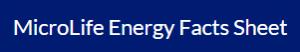Australia Vasayo MicroLife Energy Fact sheet